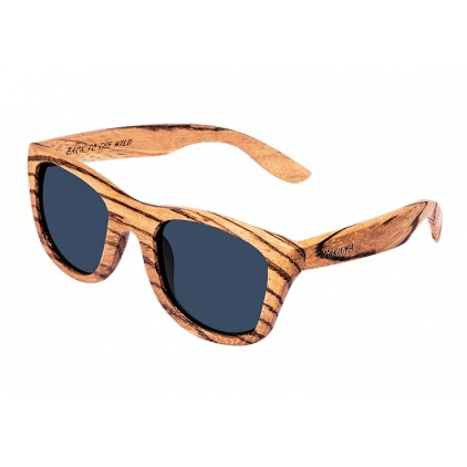 """Timeless"" Wooden Sunglasses Zebrawood"