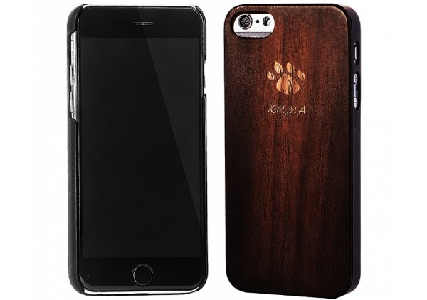 """Classic"" Vintage Walnut Wood iPhone 5/5S Case"