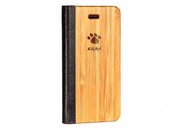 """""""Flip"""" Coque Bois Bamboo Iphone 5c"""