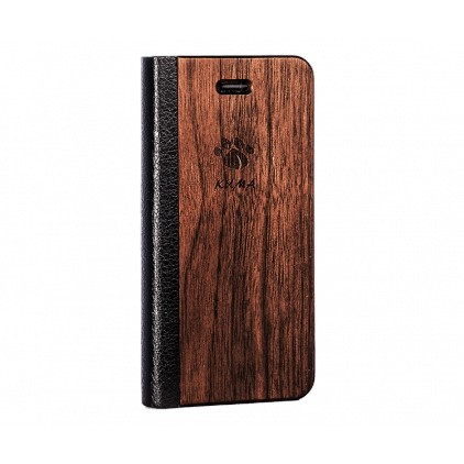 """Flip"" Walnut Iphone 5C Case"
