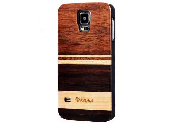 """Mix"" Walnutwood & Maple iPhone 5/5S Case"