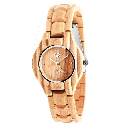 """Summer"" Montre Bois d'Erable"