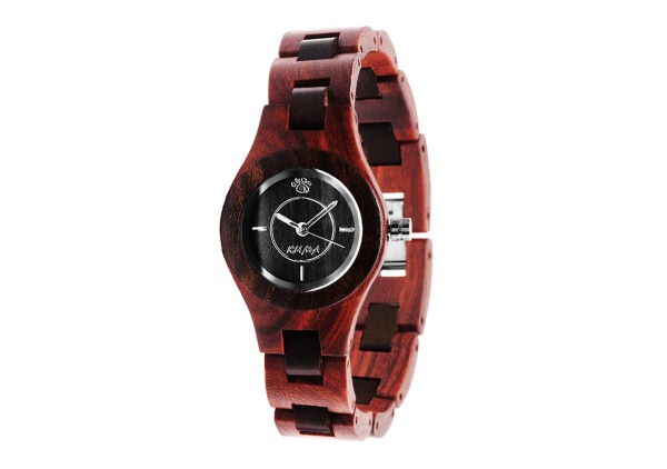"""Fauve"" Sandalwood Watch"