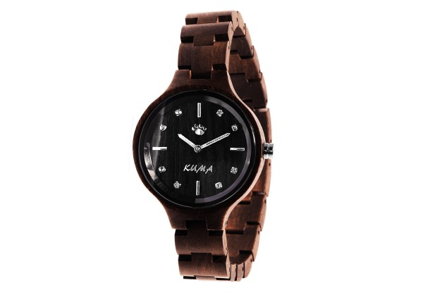 """FASHION"" Montre Bois de Santal"