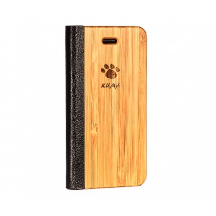"""Flip"" Bamboo Iphone 5/5S/SE Case"