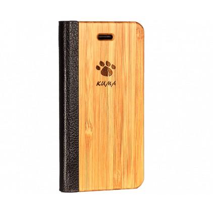 """Flip"" Coque Bois Bambou Iphone 7/8"