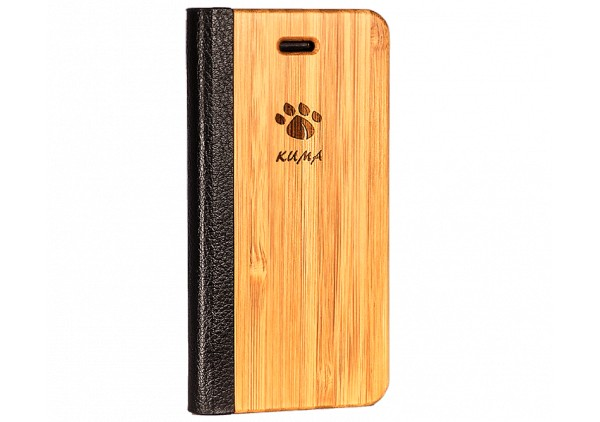 """Flip"" Coque Bois Bamboo Iphone 7/8"