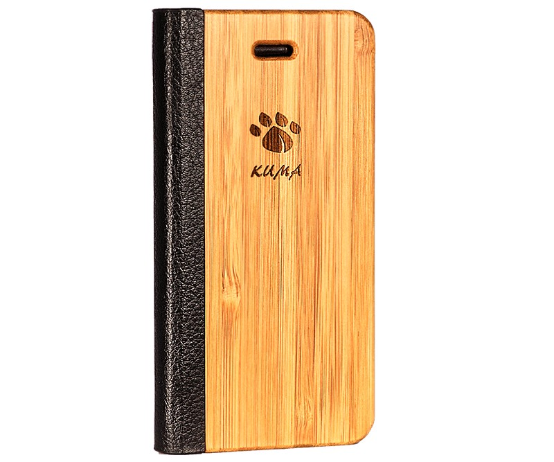 coque iphone 8 bambou