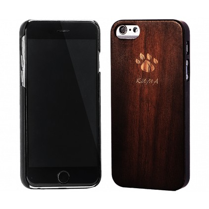 """Classic"" Vintage Walnut Wood iPhone 7/8 Case"