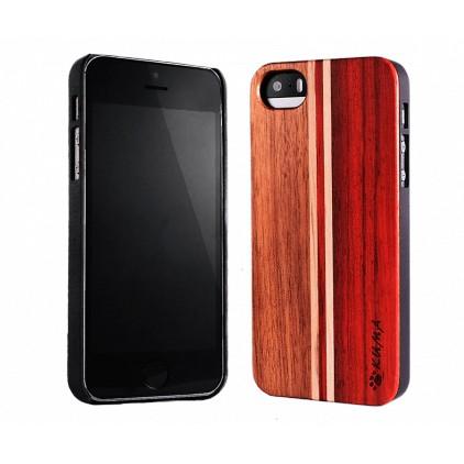 """Mix"" Rosewood & Walnut iPhone 6+ Case"