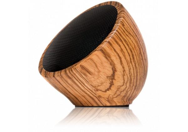 """""""Sphère"""" Enceinte Bluetooth Bois Zebré"""