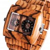 """Benghal"" Zebrawood Watch"