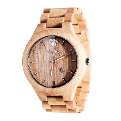 """Little Moku"" Montre Bois d'Erable"