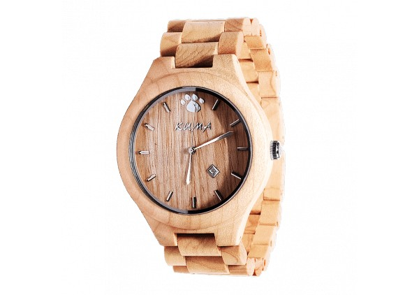 """Little Moku"" Maple Wood Watch"