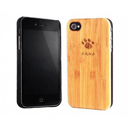 """Classic"" Bamboo Wood iPhone 4/4S Case"