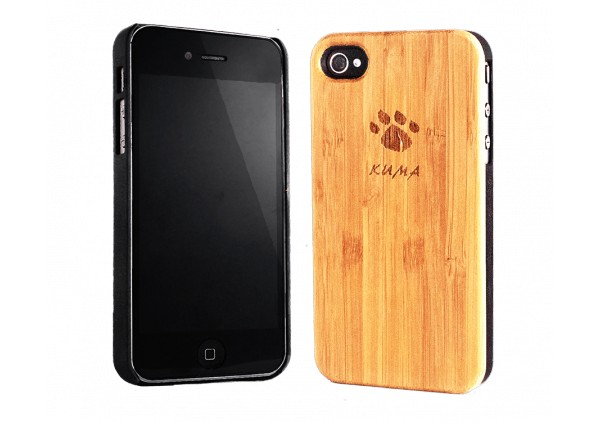 """Classic"" Coque Bois Bamboo iPhone 4/4S"