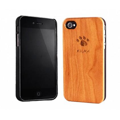 """""""Classic"""" Coque Bois Cerisier iPhone 4/4S"""