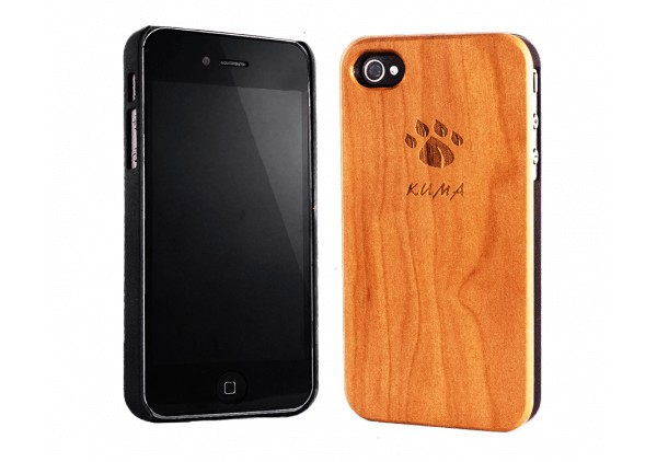 """Classic"" Cherrywood iPhone 4/4S Case"