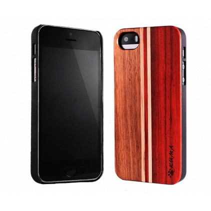 """Mix"" Rosewood & Walnut iPhone 5/5S/SE Case"