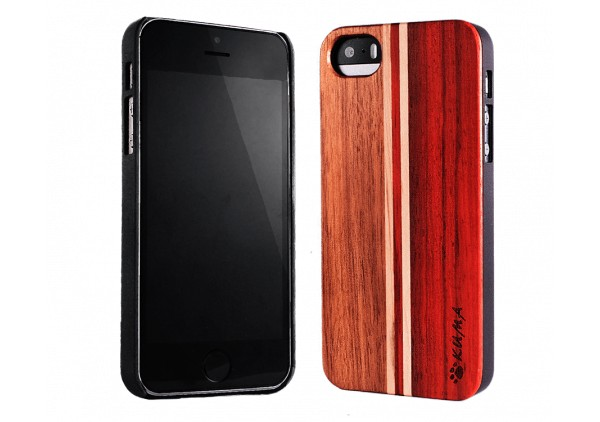 """Mix"" Rosewood & Walnut iPhone 5/5S Case"