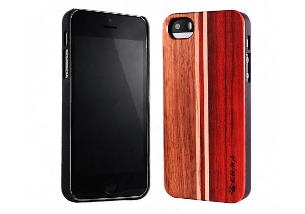 """Mix"" Rosewood & Walnut iPhone 5/5S Case"
