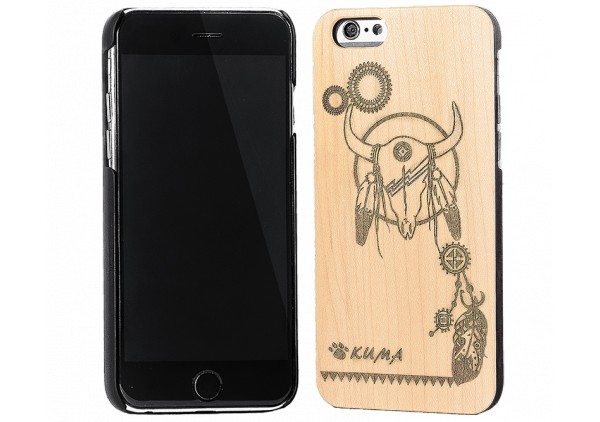 """Style"" Engraved Mapple wood iPhone 6 Case"