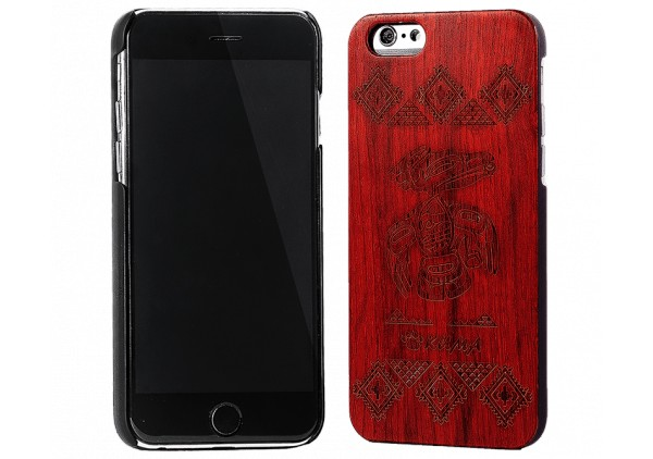 """Style"" Engraved Rosewood iPhone 6 Case"