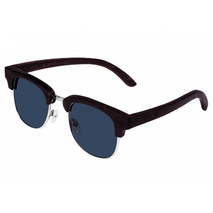"""Pride"" Wooden Sunglasses Ebony Wood"