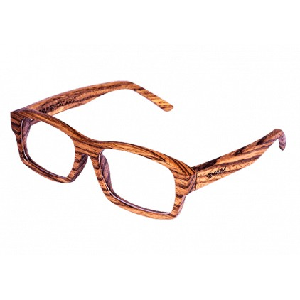 """Visual"" Zebrawood Glasses"