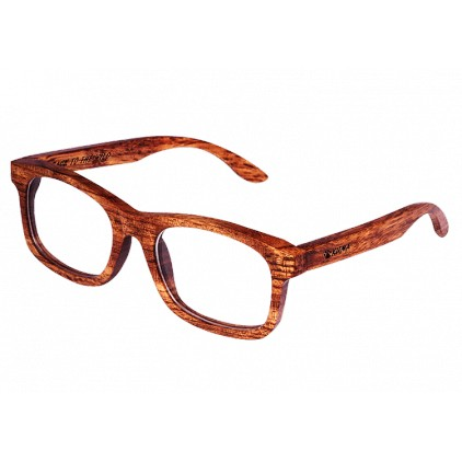 """Visual"" Bubinga Rosewood Glasses"