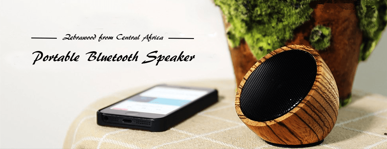 Wood Bluetooth Speaker